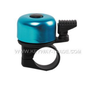 KW.24003 mini bicycle bell Alloy top with plastic base'