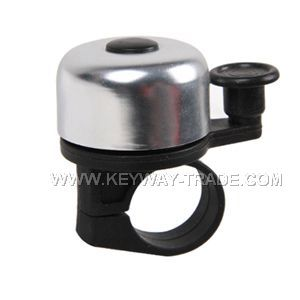 KW.24004 Bicycle bell Alloy top with plastic base and lever'