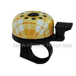 KW.24007 Bicycle bell Alloy top with plastic base'
