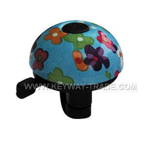 KW.24008 DingDong sound bell Aluminium top with plastic base'