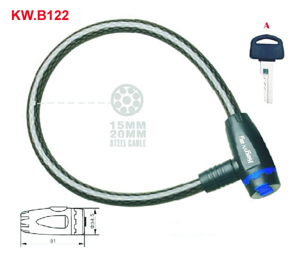 KW.B122 Cable lock'