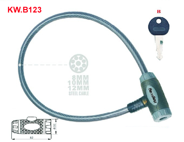 KW.B123 Cable lock'