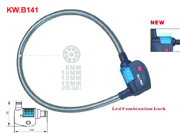 KW.B141 Cable lock'