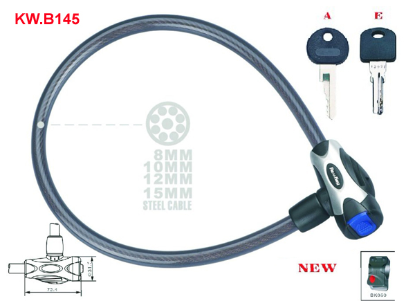 KW.B145 Cable lock'