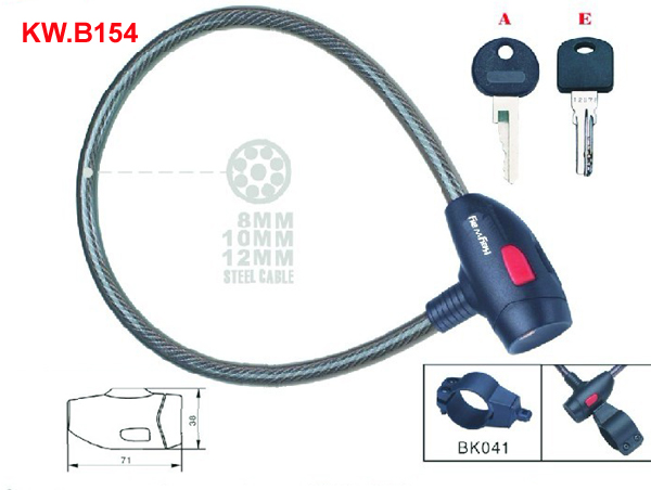 KW.B154 Cable lock'