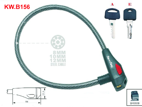 KW.B156 Cable lock'