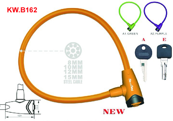KW.B162 Cable lock'