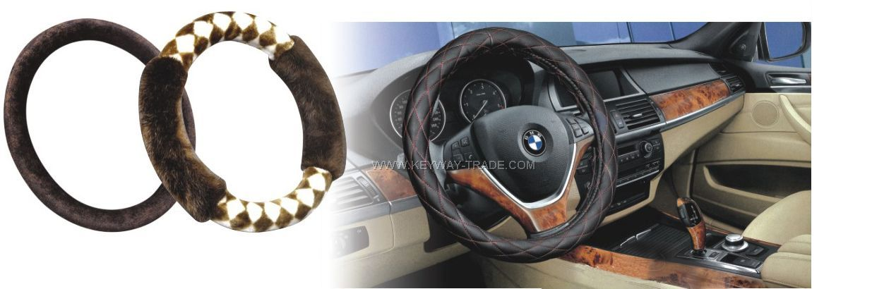 kw.A90008 steering wheel cover'